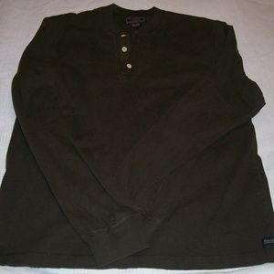 Abercrombie & Fitch L-sleeve Green Pullover L